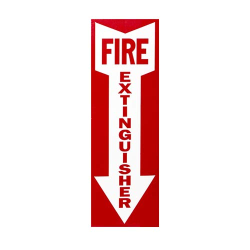 ABC Fire Extinguisher 5Lb Dry Chemical 2A10BC Buckeye with Wall Hook, Sign And Plastic Inspection Tag