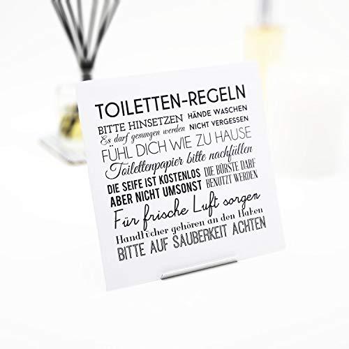 Interluxe Duftsachet -Toilettenregeln - Duftsäckchen in vielen Duftsorten als Baddekoration Weisse Früchte