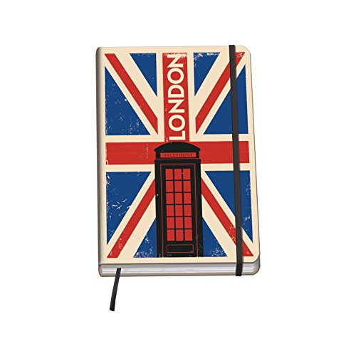 Dohe 10660 - City, cuaderno Vesta A5, London