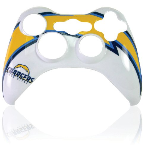 Xbox 360 Official NFL San Diego Chargers Controller Faceplate
