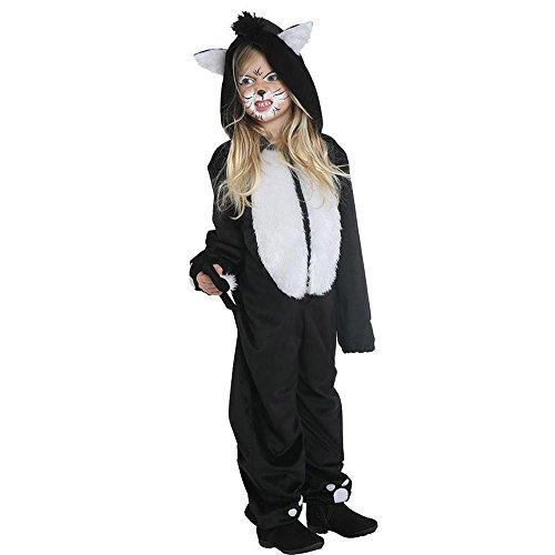 Black Cat Katzenkostüm Kinder Katze Kostüm Overall