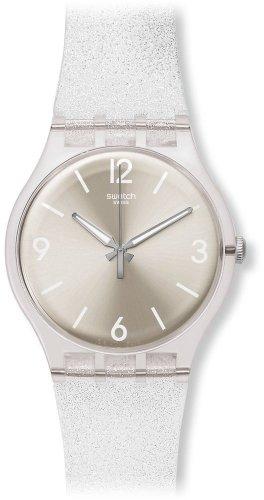 Swatch Reloj Digital de Cuarzo para Mujer con Correa de Silicona – SUOK112