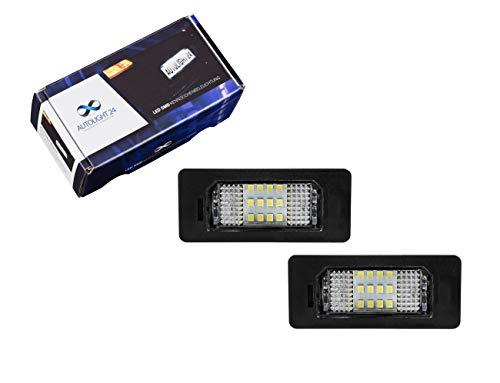 Premium LED Kennzeichenbeleuchtung Nummernschild Beleuchtung für 3er E90 E91 F30 F31 5er E60 F10 KB18