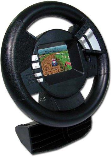 Speedlink Advanced Lenkrad für den Game Boy Advance (Gas und Bremse, Sichtfenster für GBA-Display)
