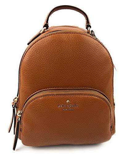 Kate Spade New York Kate Spade NY Jackson Leather Backpack Tote in Warm Gingerbread, Warmgingerbread, Medium