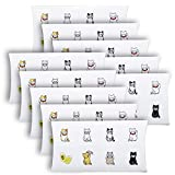 マスクケース 七福猫 10個 マスク猫 プチギフト 猫 使い捨て 紙 持ち運び 不織布 マスク まねき猫