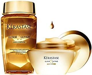 Kerastase Elixir Ultime Shampoo Oleo Complexe 250ml and Masque 200ml