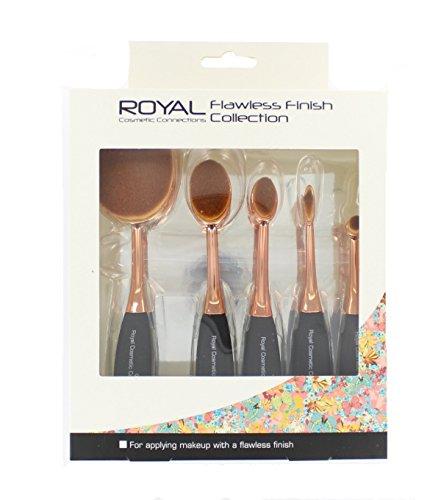 Royal Flawless Finish Collection Lot de brosse de maquillage, 5 pièces