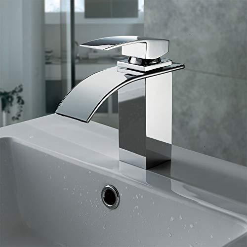 Wasserfall Wasserhahn CM-1017, Waschtischarmatur Steckerkaliber 3/8