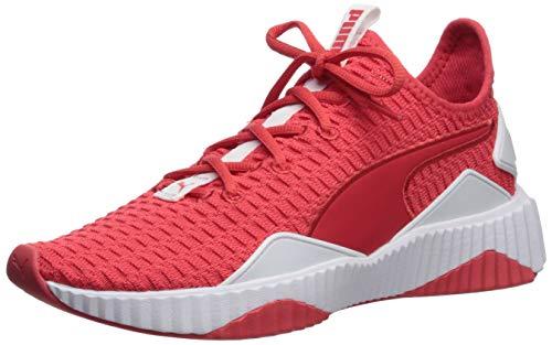 PUMA Women's Defy Sneaker hibiscwhite 6.5 M US