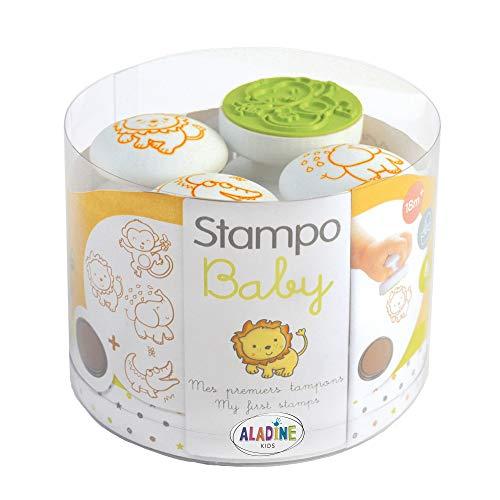 Aladine 3003803 - Stampo Baby Safari-Tiere