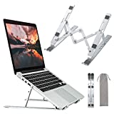 Laptop Stand,Apsojoy Adjustable Aluminum Laptop Computer Stand Tablet Stand,Ergonomic Foldable Notebook Desktop Holder