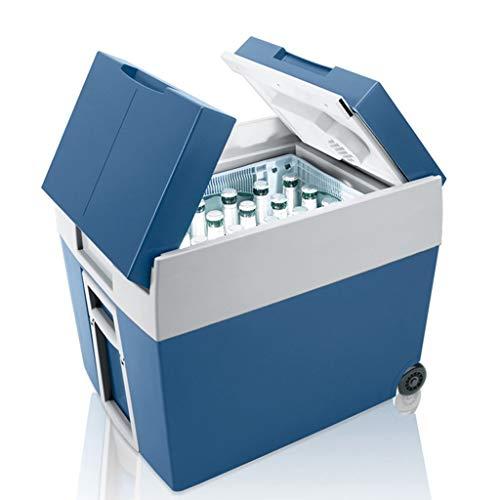Nevera Portatil Caja De Refrigeración Eléctrica, Refrigerador For Automóvil, Refrigerador For Automóvil, Capacidad 48L, 12V 24V 220V, For Automóvil/Barco/Autoconducción/Acampada/Exterior