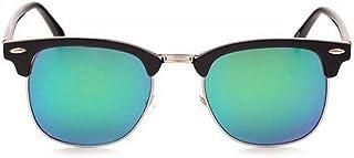 WSKPE Gafas De Sol,Mujeres Hombres Semi-Rimless Gafas De Sol Polarizadas Antirreflectante Anteojos