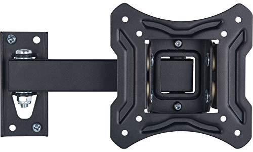 AmazonBasics Essentials schwenk- und neigbare TV-Einarm-Wandhalterung für 33-58,4 cm (13-23 Zoll) TV-Geräte