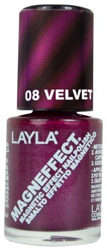 Layla Cosmetics MagneEffect Nagellak, fluweel groove, 1-pack (1 x 0,01 L)