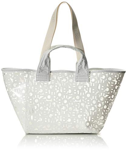 Bogner Damen Wengen Zaha Shopper Lho Tote, Weiß (white), 20x27x56 cm