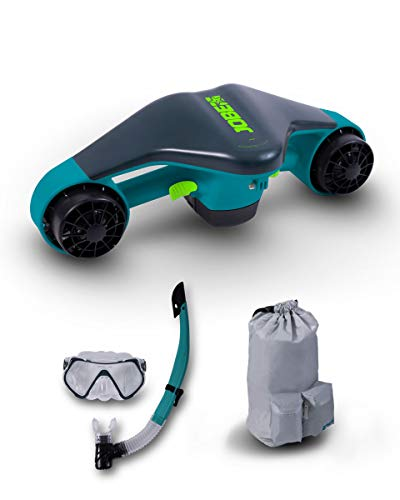Jobe, Gioco Borsa SORKEL Unisex-Adulto, Multicolore, Infinity Sea Scooter avec sac ET Set DE Snorkel
