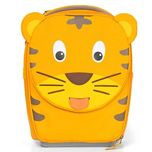 Affenzahn Kinderkoffer - in Handgepäckgröße als Trolley - Tiger - Gelb