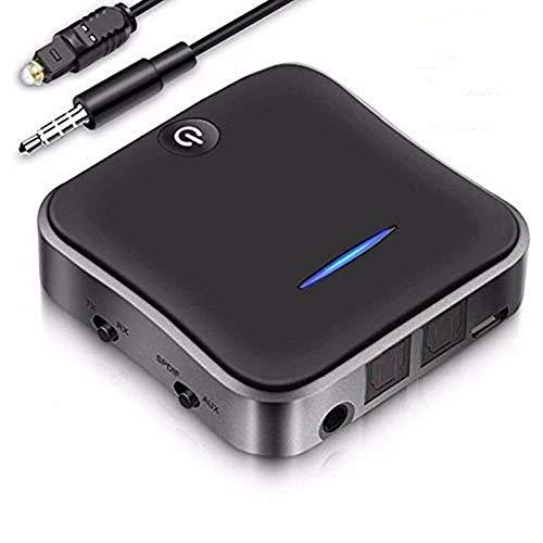 glodenbridge 2-in-1 Bluetooth 5.0 Transmitter Receiver Adapter AptX Low...