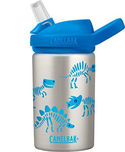 CAMELBAK Unisex– Babys Eddy+ Wasserflasche, Dino Bones, One Size