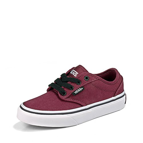 Vans Atwood Unisex-Kinder Sneakers, Rot ((Canvas) oxbloo DDU), 39 EU