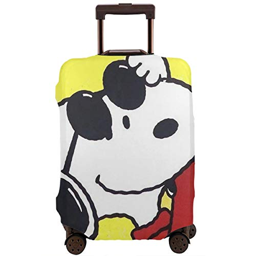 Travel Luggage Cover Cool Snoopy Suitcase Protector Washable Baggage Covers 18-32 Inch