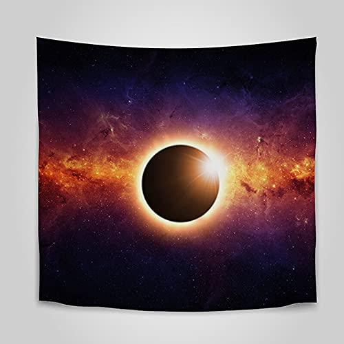 Tapiz psicodélico manta de pared envío agujero negro tapis mural decoración del hogar dormitorio pared fondo tela A4 180x200cm