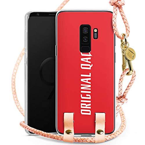 DeinDesign Samsung Galaxy S9 Plus Carry Case Hülle zum Umhängen Handyhülle mit Kette Xatar Fan Article Merchandise Fanartikel Merchandise