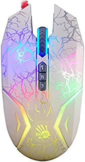 Bloody N50 Infinity Shatter Wired Optical Gaming Mouse with LED Lighting | Gaming Grade Sensor | 8 Programmable Buttons | ...
