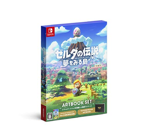 The Legend Of Zelda Link's Awakening (Artbook Set) (Idioma Español Incluido) Version Japonesa RegionFree Nintendo Switch