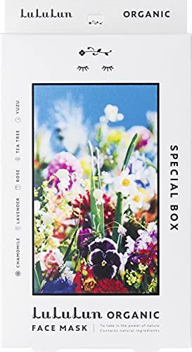 【Organic】フェイスマスク パック ルルルンオーガニック各1枚 5種セット 蜷川実花コラボ
