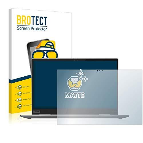 BROTECT Entspiegelungs-Schutzfolie kompatibel mit Lenovo ThinkPad X1 Yoga (4. Generation) Bildschirmschutz-Folie Matt, Anti-Reflex, Anti-Fingerprint