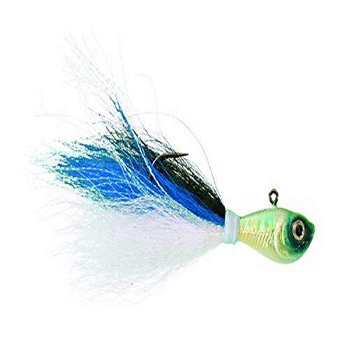 Spro SBTJBS-4 Prime Bucktail Jig, 4-Ounce, Blue Shad