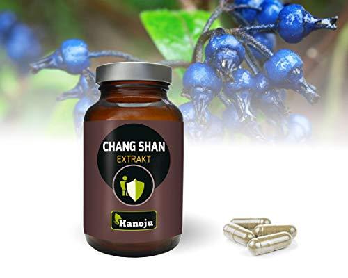 Hanoju Chang Shan (Dichroa febrifuga) Extrakt 400mg (90 Kapseln) 100% natürlich