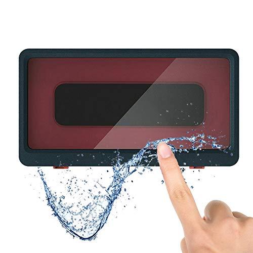 Shower Pro - Funda montable, Soporte para teléfono móvil Impermeable para baño sin Perforaciones, Soporte para teléfono táctil Impermeable antivaho (Geek Blue)