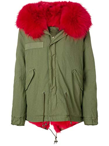 MR&MRS ITALY Luxury Fashion dames MP444SC394223 groene jas | Saison Outlet