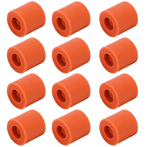 Vbestlife 12Pcs/Pack Silicone Hot Bed Leveling Column Shocking Absorber 3D Printer Accessories, for Prusa i3 Plus Anet A8 Wanhao D9 Mega