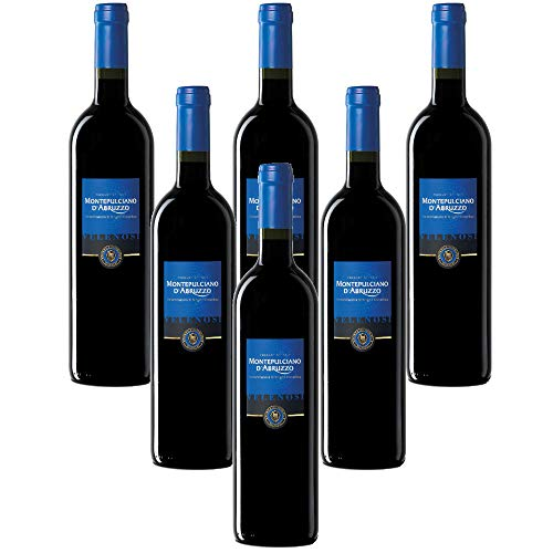 VELENOSI vinos - Ascoli Pieno (AP) Italia Montepulciano D'Abruzzo DOC Vino tinto italiano (6 botellas 75 cl.)