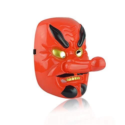 Gkjhgou Máscaras de energía Desmontables Tengu Máscaras