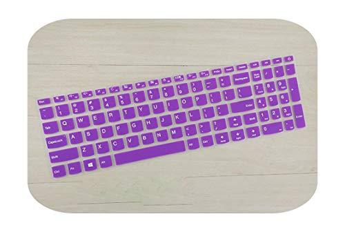 TOIT - Funda para teclado Lenovo V310-15 310-15 Ideapad 110-15 510-15 510-15 Isk 110310510 15-Purple-