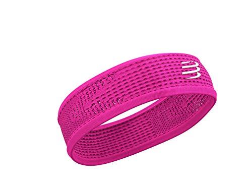 COMPRESSPORT Erwachsene (Unisex) Thin Headband On/Off Laufstirnband, pink, eine Größe