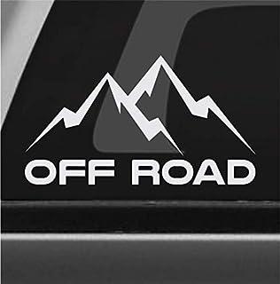 Off Road Mountain Sticker Vinyl Decal 4x4 Rock Crawler Mud Truck SUV