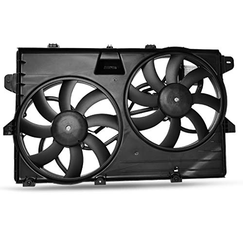 OEM Cooling Radiator Condenser Fans Assembly For Ford Edge