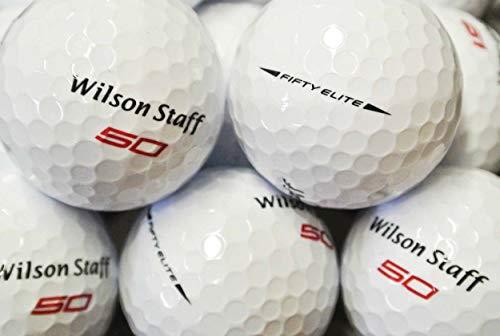 lbc-sports Wilson Staff Fifty Elite - Palline da Golf AAAAAAAAA, Colore: Bianco, lbc-6065-var-25-200, Bianco, 200 Bälle