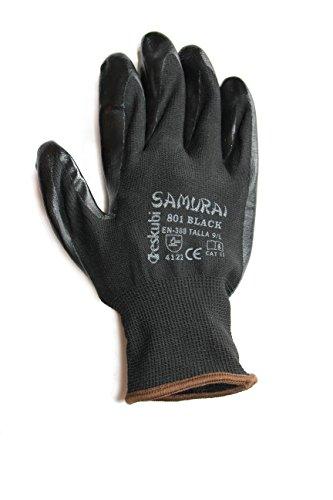Samurai 801-Black Guantes de Trabajo 8
