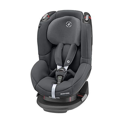 Maxi-Cosi 8601550110 Maxi-Cosi Tobi Kindersitz, mit 5 komfortablen Sitz-und Ruhepositionen, Gruppe 1 Autositz (ca. 9-18 kg), nutzbar ab ca. 9 Monate bis ca. 4 Jahre, Authentic graphite, grau