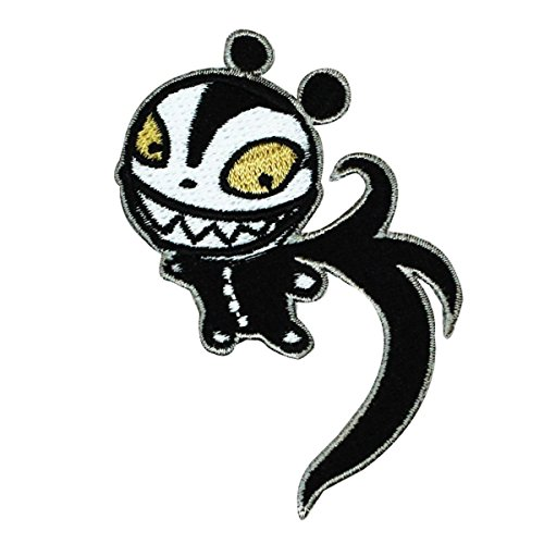 Disney Nightmare Before Christmas Scary Teddy Patch Halloween Iron On Applique