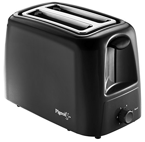 Pigeon by Stovekraft 2 Slice Auto Pop up Toaster. A Smart Bread Toaster for Your Home