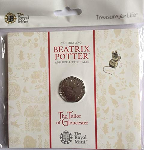 Royal Mint Tailor of Gloucester 2018 50p Pack